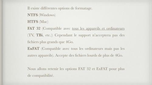 Clé USB - Formatage.002